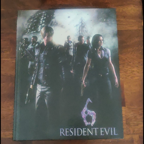 Resident Evil 6 Hardbook